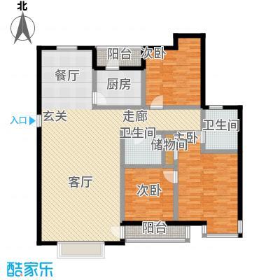 宝龙湾佳园140.00㎡房型户型