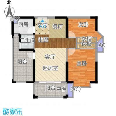 南枫时光86.52㎡户型