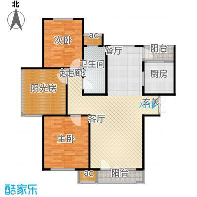 中海英伦观邸118.00㎡G2户型