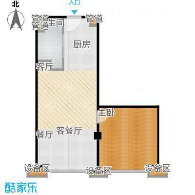 东城国际公寓902单位户型
