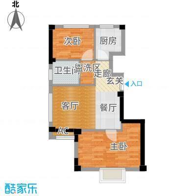 碧海尚城59.00㎡户型