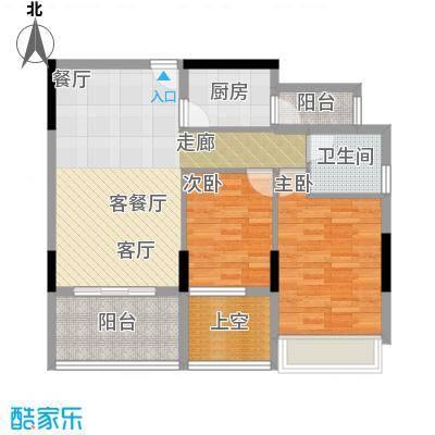 金地梅陇镇70.00㎡房型户型