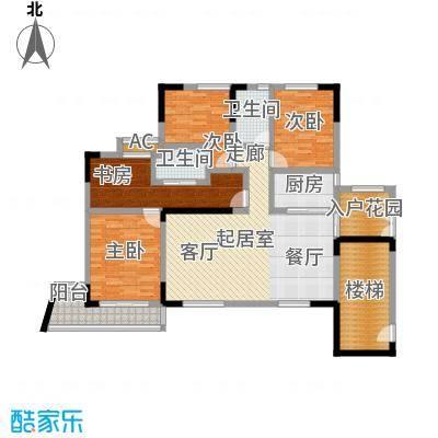 峰景鉴筑159.00㎡户型