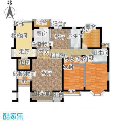 河畔新城四期住宅-1户型