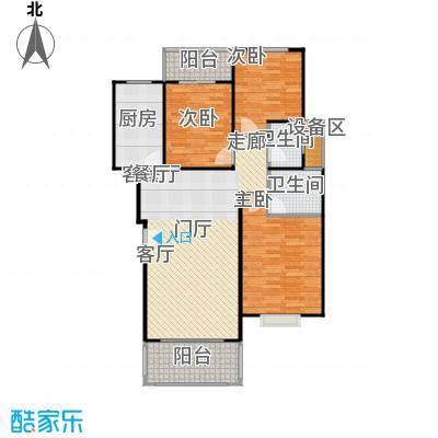 滨江美寓120.00㎡1-34-3户型