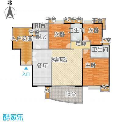 宏诚海岸花园141.80㎡宏峰轩-201户型