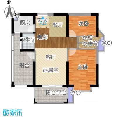 南枫时光89.49㎡户型