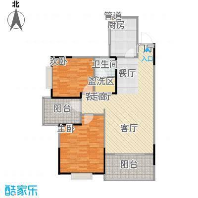 鑫天山城明珠7栋E1-户型