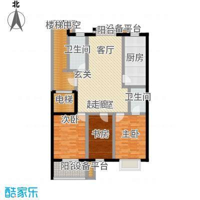 腾泰花苑115.52㎡9482m2户型