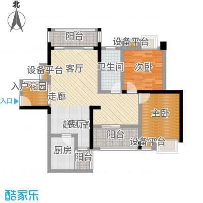 潇湘上院英祥苑95.51㎡6C户型