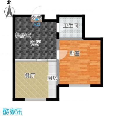 金水佳缘53.00㎡房型户型