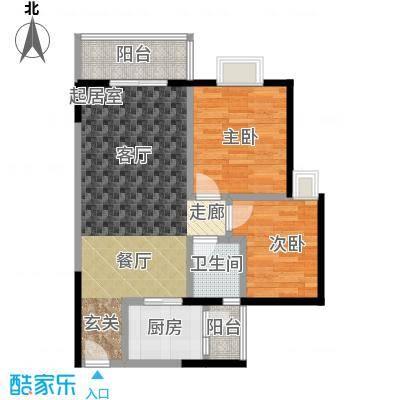 兴业华庭30.00㎡房型户型