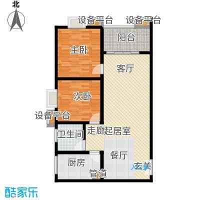 鑫远・湘府东苑鑫远a派91.49㎡B3户型