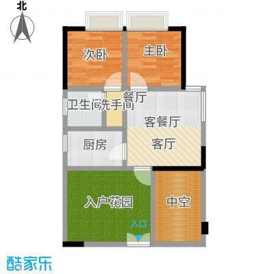 民华大厦50~户型