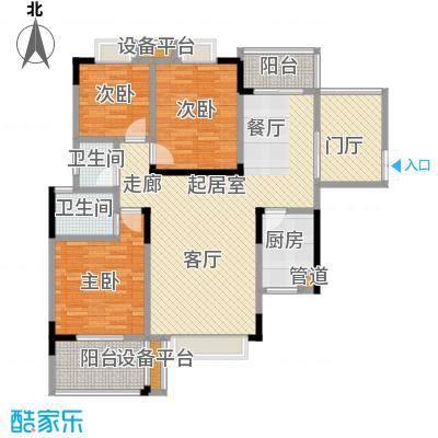 鑫远・湘府东苑鑫远a派100.00㎡F2户型