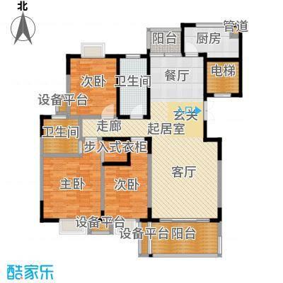 鑫远・湘府东苑鑫远a派100.00㎡D1户型