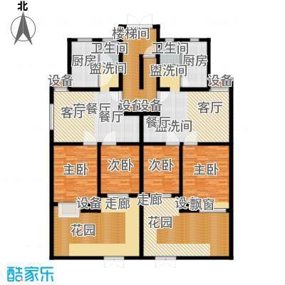 金陵王榭103.56㎡带地下储藏室方户型