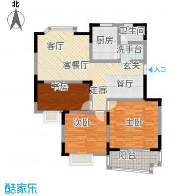 林景・瑞园106.43㎡11983M2户型