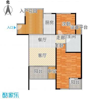 万科金色家园93.00㎡A栋401-3001单元户型