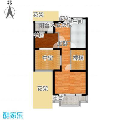 三江尊园200.00㎡地上三层-叠加别墅-户型