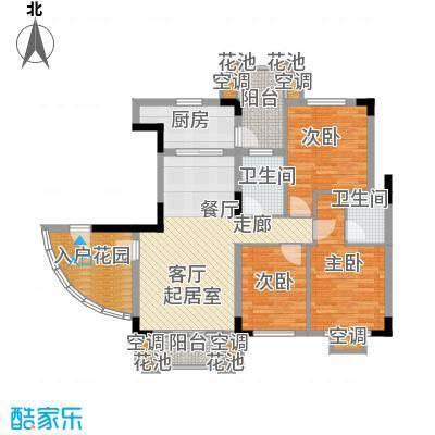 大运家园98.08㎡6栋F座户型