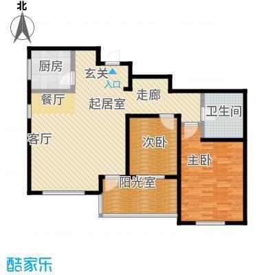 丽阳馨苑116.00㎡房型户型