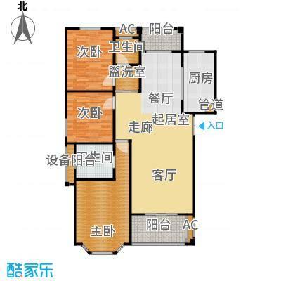 长房星城世家长房118.51㎡E6户型