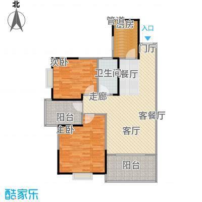 鑫天山城明珠12栋D2-户型