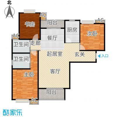 市政馨苑126.10㎡户型