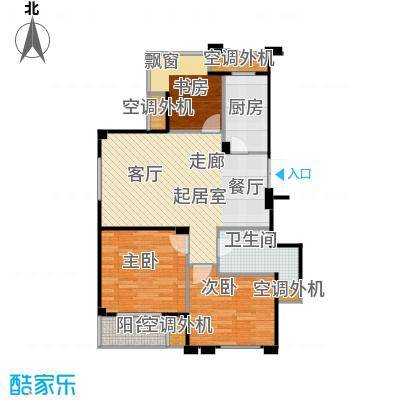 荣安琴湾H1户型