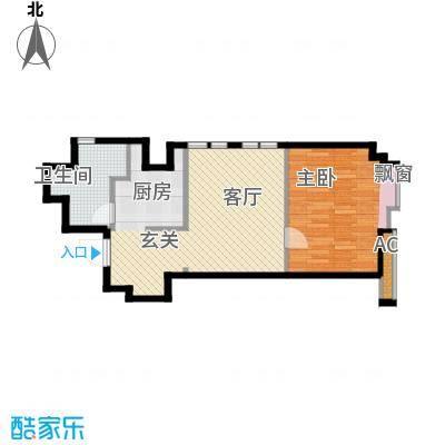 杰特公寓50.00㎡G户型