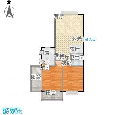 山大新苑户型2室1厅1卫1厨