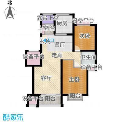 锦悦苑101.00㎡房型户型