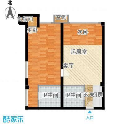 中齐未来城2号公寓-户型