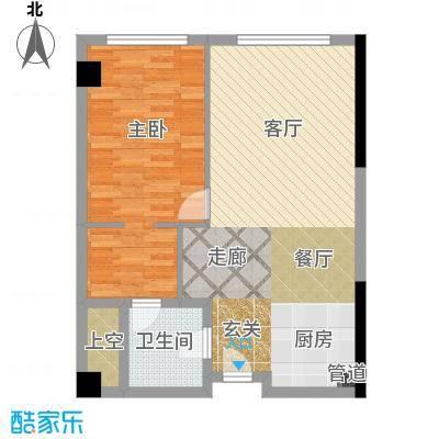 珠江时代广场83.89㎡户型
