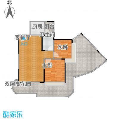 香缇雅苑60.00㎡房型户型