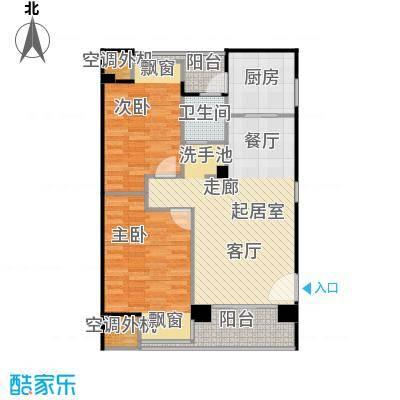 荣安琴湾J2户型