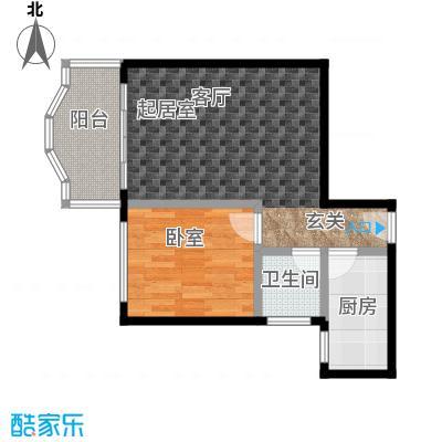 天骄花园界石・天骄花园46.28㎡房型户型