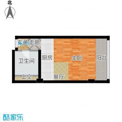 珠江时代广场41.60㎡-户型