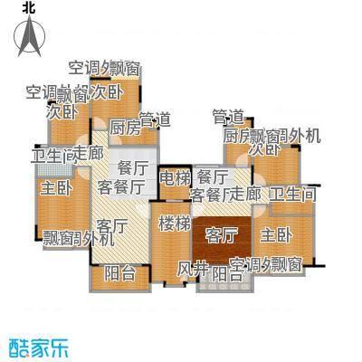 金碧湾3号楼平面图户型