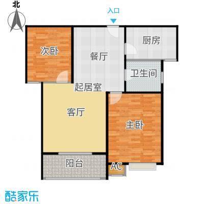 市政馨苑91.50㎡户型