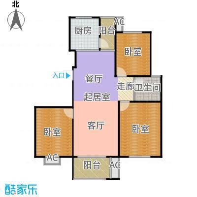 武夷水岸家园108.00㎡D2-1户型