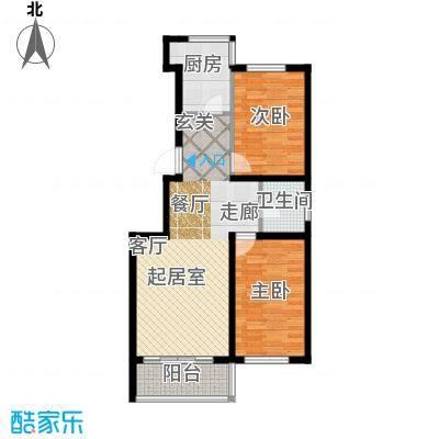 江山别院91.06㎡J户型