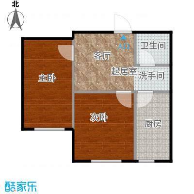 江南印象45.00㎡住宅-45~户型