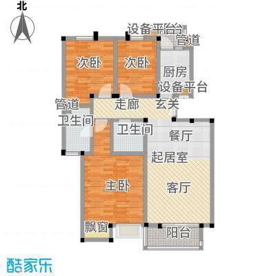 美达浅草明苑103.00㎡-户型