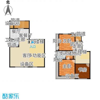 万科深蓝万科新榆公馆二期住宅二层半复式户型