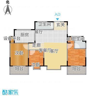 山大新苑户型3室1厅2卫1厨