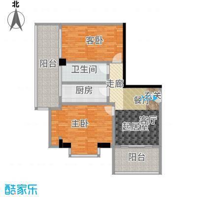 颐和雅轩100.85㎡南塔23-25层02单元户型