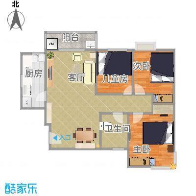 东方新城3房