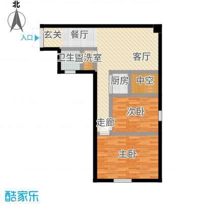 麦凯乐国际公寓户型